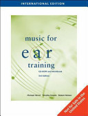 Music For Ear Training International Edition With Cd Rom  Book