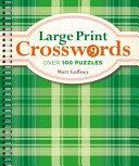 Large Print Crosswords #9