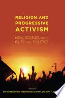 Religion and Progressive Activism Book