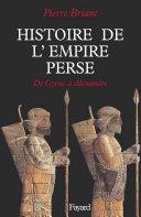 Pdf Histoire de l'Empire perse Telecharger