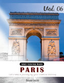 Paris   Romantic Place Grey Scale Photo Adult Coloring Book  Mind Relaxation Stress Relief Coloring Book Vol6