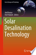 Solar Desalination Technology