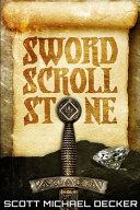 Sword Scroll Stone