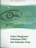 Project Management Professional (PMP) Role Delineation Study