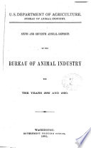 Annual Report Of The Bureau Of Animal Industry V 6 7 1889 90