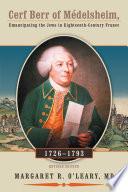 Cerf Berr of M  delsheim 1726   1793 Book