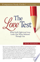 The Love Test Study Guide