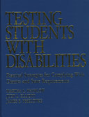 Testing Students With Disabilities