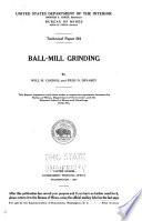 Ball mill Grinding Book PDF