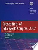 Proceedings of ISES World Congress 2007  Vol 1 Vol 5