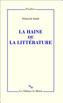 La Haine de la littérature ebook