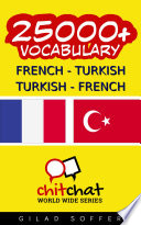 25000+ French - Turkish Turkish - French Vocabulary