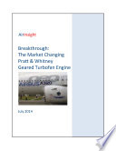 Breakthrough  The Geared Turbofan from Pratt   Whitney