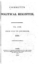 Pdf Cobbett's Political Register