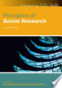Ebook Principles Of Social Research