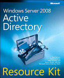 Windows Server 2008 Active Directory Resource Kit