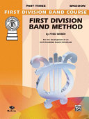 Pdf First Division Band Method, Part 3 Telecharger