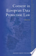 Consent In European Data Protection Law