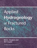 Applied Hydrogeology of Fractured Rocks Pdf/ePub eBook
