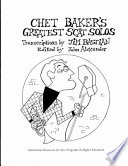 Chet Baker's Greatest Scat Solos