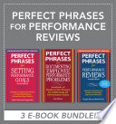 Perfect Phrases For Performance Reviews Ebook Bundle