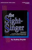 The Sight-Singer, Volume II for Unison/Two-Part Treble Voices Pdf/ePub eBook