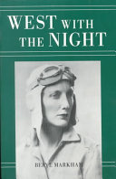 West with the Night Book