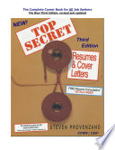 TOP SECRET Resumes & Cover Letters, the Third Edition Ebook