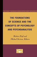 The Foundations of Science and the Concepts of Psychology and Psychoanalysis