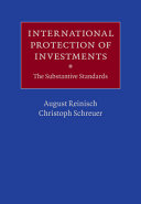 International Protection of Investments