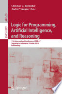 Logic for Programming  Artificial Intelligence  and Reasoning