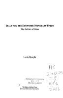 Italy and the Economic Monetary Union