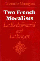 Two French Moralists