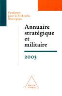 Annuaire stratégique et militaire 2003 ebook