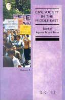 Civil society in the Middle East  2  2001