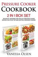 Pressure Cooker Cookbook Book