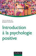 Pdf Introduction à la psychologie positive Telecharger