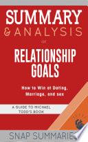 Summary   Analysis of Relationship Goals