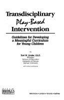 Transdisciplinary Play based Intervention