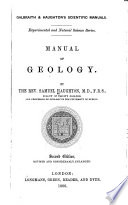 Manual of Geology