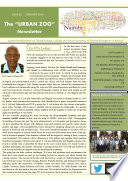 The Urban Zoo Newsletter On Epidemiology Ecology And Socio Economics Of Disease Emergence In Nairobi Issue 2 Book PDF