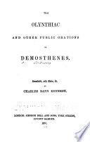 The Orations of Demosthenes    Book