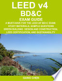 Leed V4 Bd C Exam Guide