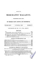 Hunt's Merchants' Magazine and Commercial Review