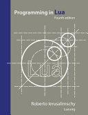 Programming in Lua  Fourth Edition