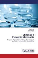 Childhood Pyogenic Meningitis Book