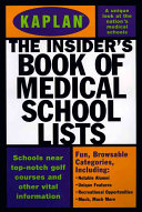 The Insider s Book of Medical School Lists