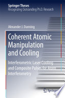 Coherent Atomic Manipulation and Cooling Book