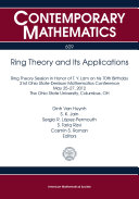 Ring Theory and Its Applications