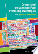 Conventional And Advanced Food Processing Technologies Book PDF